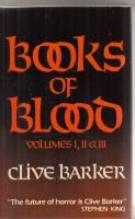 Image for Books Of Blood Volumes 1, 11 & 111.