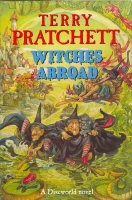 Image for Witches Abroad (signed by the author).