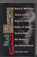 Image for Best New Horror 3 (inscribed & dated by the author).
