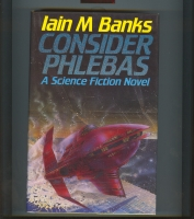 Image for Consider Phlebas (inscribed by the author).