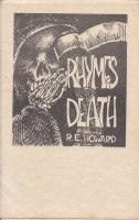 Image for Rhymes Of Death (limited/numbered).