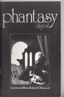 Image for Phantasy Digest Vol 1 no 1.