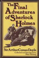 Image for The Final Adventures of Sherlock Holmes: Completing The Canon.
