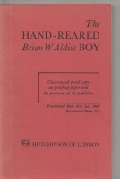 Image for The Hand-Reared Boy (signed by the author).
