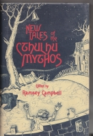 Image for New Tales Of The Cthulhu Mythos (inscribed by the author)..