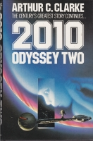 Image for 2010: Odyssey Two (misspelt ''Clark'' on the title page).
