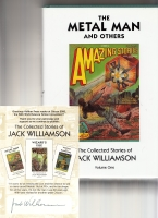 Image for The Metal Man And Others: The Collected Stories Of Jack Williamson, Volume One (+ signed bookplate laid in).