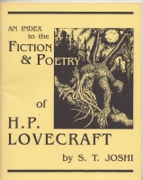 Image for An Index To The Fiction & Poetry of H. P. Lovecraft.