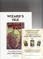 Image for Wizard's Isle: The Collected Stories Of Jack Williamson, Volume Three (+ signed bookplate).