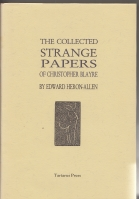 Image for The Collected Strange Papers Of Christopher Blayre (+ Philip Allan 1932 1st edition).