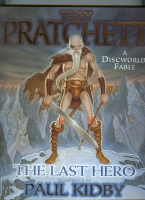 Image for The Last Hero: A Discworld Fable (+ publicity material)..