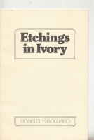 Image for Etchings In Ivory: Poems in Prose.