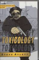 Image for Toxicology (+ publicity colour postcard signed by the author).