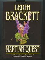 Image for Martian Quest: The Early Brackett.