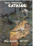 Image for The Berni Wrightson Catalog: NYCA Gallery October 1977.