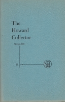 Image for The Howard Collector vol 2 no 5 (whole no 11).