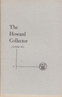 Image for The Howard Collector vol 3 no 5 (whole no 17).
