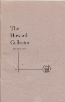Image for The Howard Collector vol 3 no 6 (whole no 18).