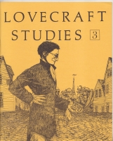 Image for Lovecraft Studies Vol 1 no 3,