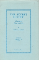 Image for Chapters Five And Six of The Secret Glory (250 numbered copies).