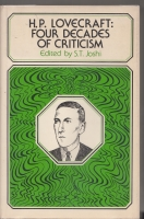 Image for H. P. Lovecraft: Four Decades Of Criticism (signed by the editor)..