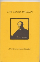 Image for The Good Machen: A Centenary Tribute Recalled.