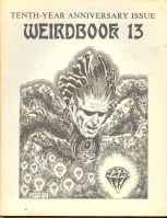 Image for Weirdbook no 13: Tenth-Year Anniversary Issue.