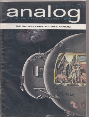 Image for Analog Science Fact/Science Fiction (large-size) February 1965 issue.