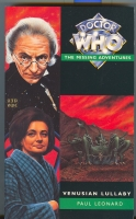 Image for Venusian Lullaby: Doctor Who, The Missing Adventures.