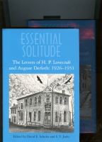 Image for Essential Solitude: The Letters Of H. P. Lovecraft and August Derleth: 1926-1931 (and)  1932-1937 (two volumes).