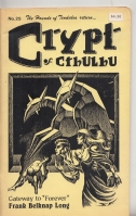 Image for Crypt Of Cthulhu Vol 3 no 9: Weird Tales Tribute issue (whole no. 25).