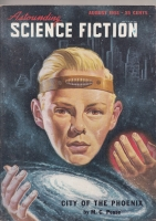 Image for Astounding Science Fiction (August 1951).