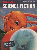Image for Astounding Science Fiction (October 1951).