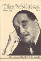 Image for The Wellsian no 9: The Journal of the H. G. Wells Society.