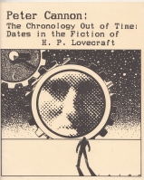 Image for The Chronology Out of Time: Dates In The Fiction Of H. P. Lovecraft (signed by the author).