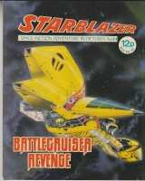 Image for Starblazer: Space Fiction Adventure In Pictures No 14: Battlecruiser Revenge.