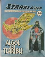 Image for Starblazer: Space Fiction Adventure In Pictures No 15: Algol The Terrible.