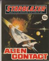 Image for Starblazer: Space Fiction Adventure In Pictures No 26: Alien Contact.