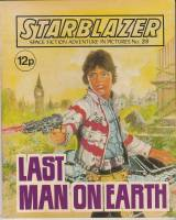 Image for Starblazer: Space Fiction Adventure In Pictures No 28: Last Man On Earth.