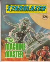 Image for Starblazer: Space Fiction Adventure In Pictures No 32: The Machine Master.
