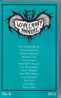 Image for The Lovecraft Annual no 6.