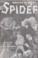 Image for The Spider: Master Of The Death Madness.