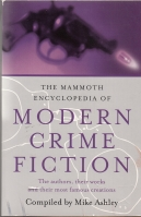 Image for The Mammoth Encyclopedia Of Modern Crime Fiction (inscribed to Hugh Lamb).