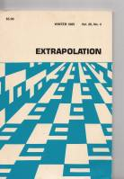 Image for Extrapolation Vol 26 no 4.