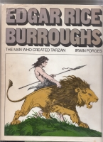 Image for Edgar Rice Burroughs: The Man Who Created Tarzan (inscribed by Porges - and his wife - to Hugh Lamb).