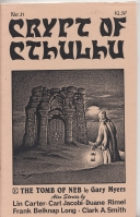 Image for Crypt Of Cthulhu Vol 4 no 6: All-Fiction Issue (whole no. 31).