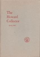 Image for The Howard Collector vol 1 no 2.