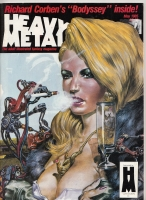 Image for Heavy Metal Magazine, May 1985 issue.
