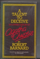 Image for A Talent To Deceive: An Appreciation Of Agatha Christie.