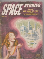Image for Space Stories April 1953.